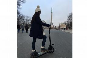 Bez sastrēgumiem ar elektrisko skrejriteni