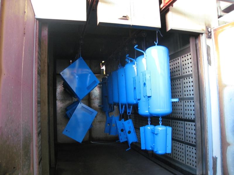 Pulverkrāsošana, gruntēšana nestandarta detaļu krāsošana lidz 700 kg