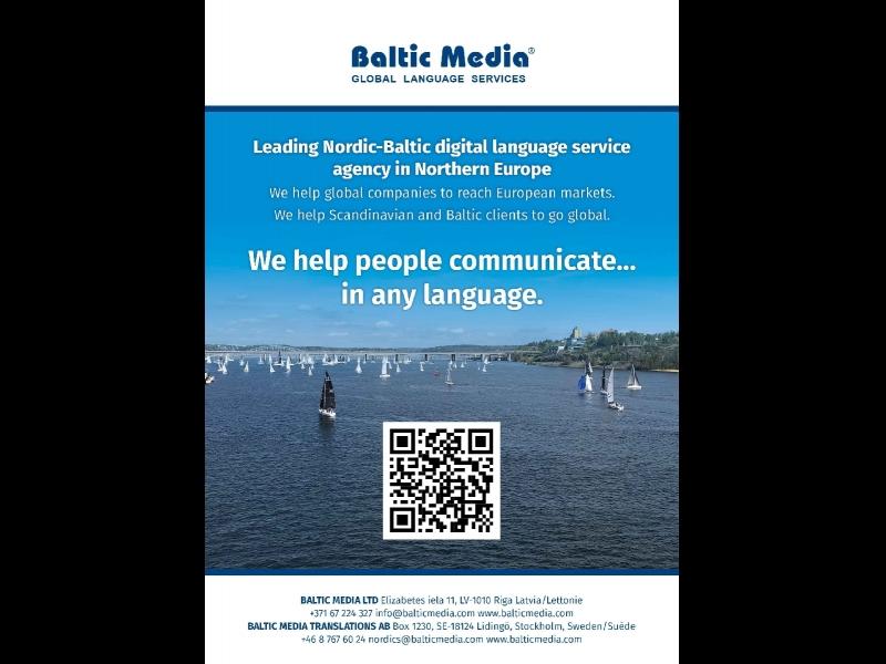 Online ISO sertificēts tulkošanas birojs Baltic Media® | Kad jums svarīgs ātrums un kvalitāte. Latvijā un visā pasaulē.