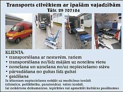 Transports cilvēkiem ar īpašām vajadzībām