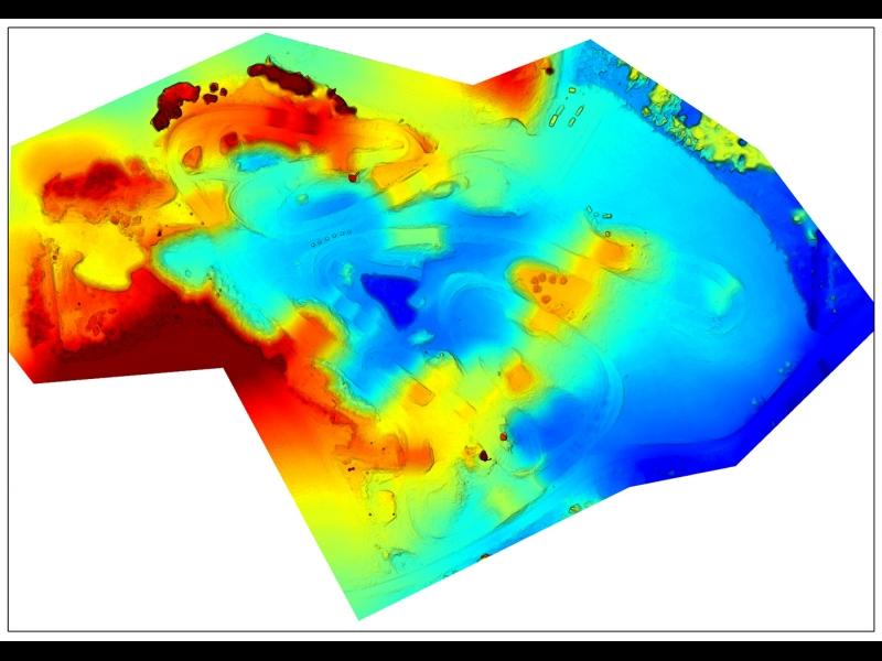 Zemes virsmas augstuma modelis (DSM)