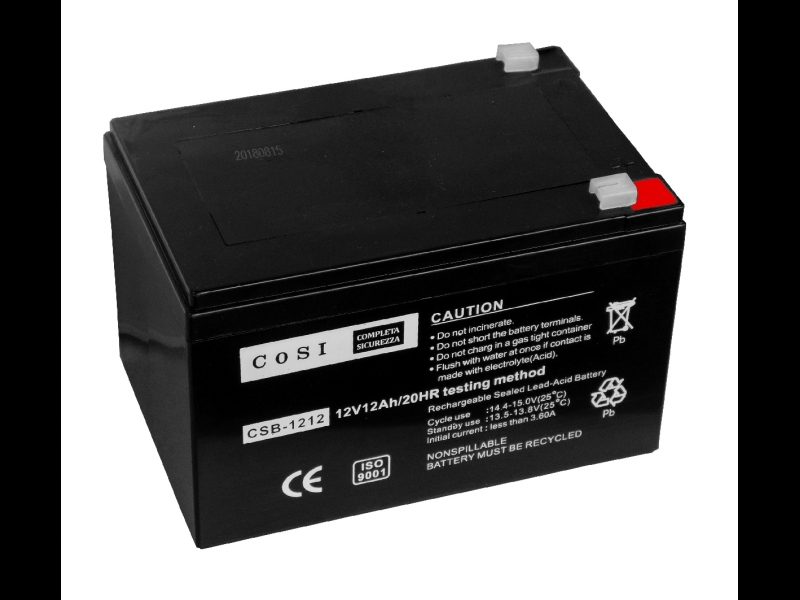 Cosi 1212 Battery ElectroBase