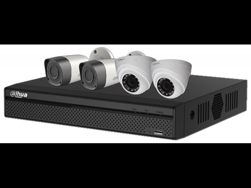 Dahua camera kit dome IP AHD ElectroBase