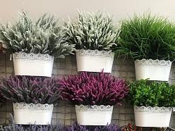 Lavanda makslīgie ziedi