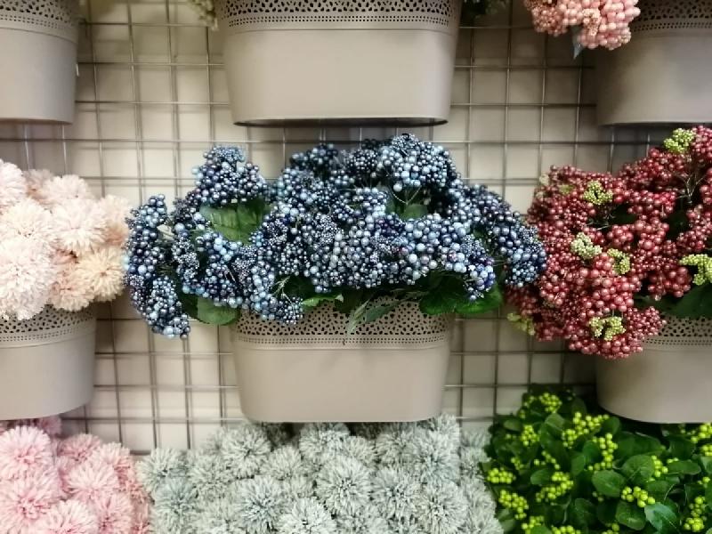 Mākslīgie ziedi augi ogas