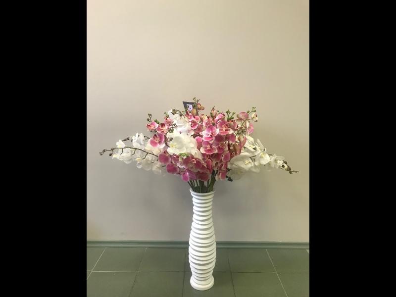 Mākslīgie ziedi dekors