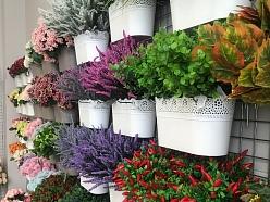 Mākslīgie ziedi floristikas piederumi