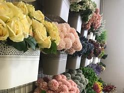 Mākslīgie ziedi rozes augi