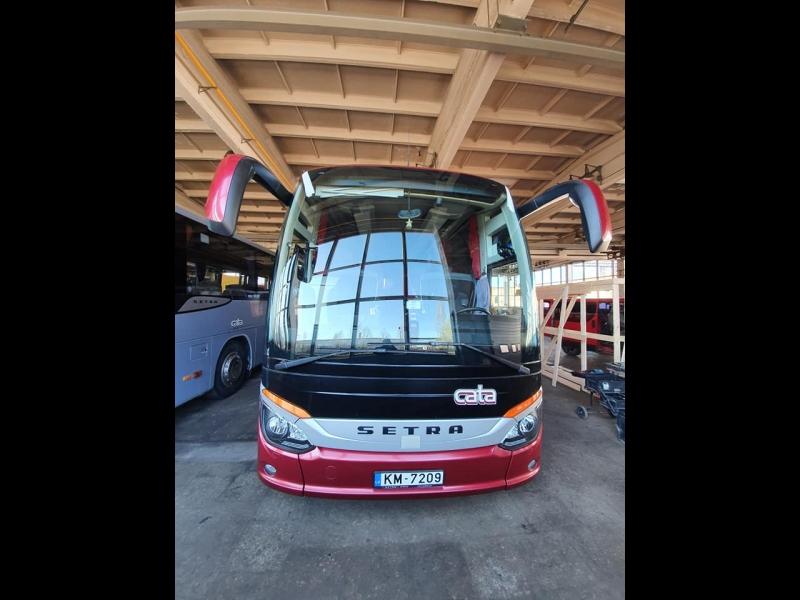 Stikli autobusiem