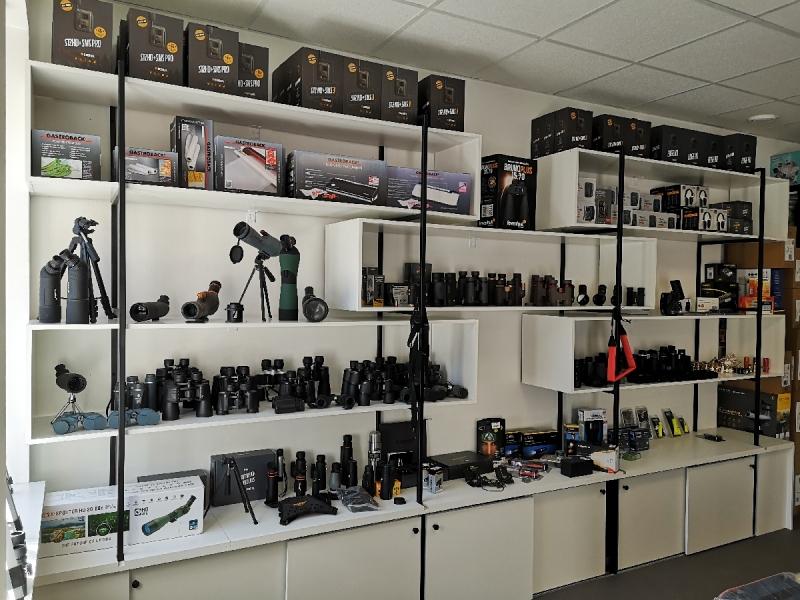 Kvalitatīvu optisko ierīču tirdzniecība