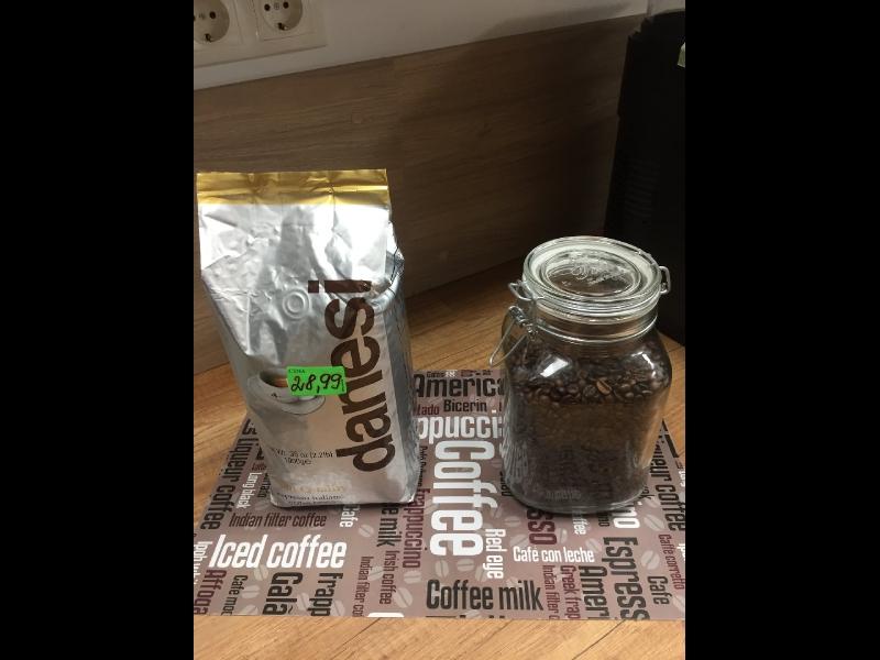 Pupiņu kafija, kafijas automātu tirdzniecība
