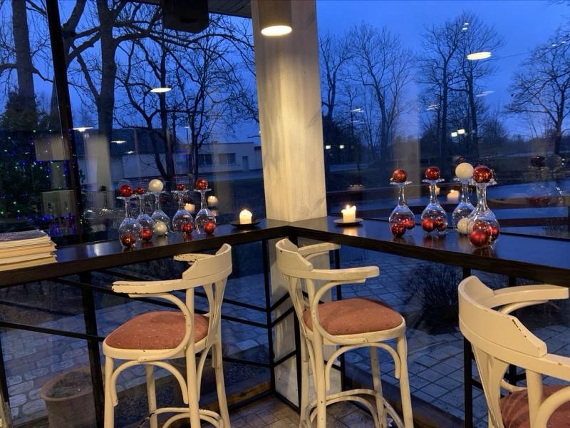 Kafeinīca Ziemassvētkos
