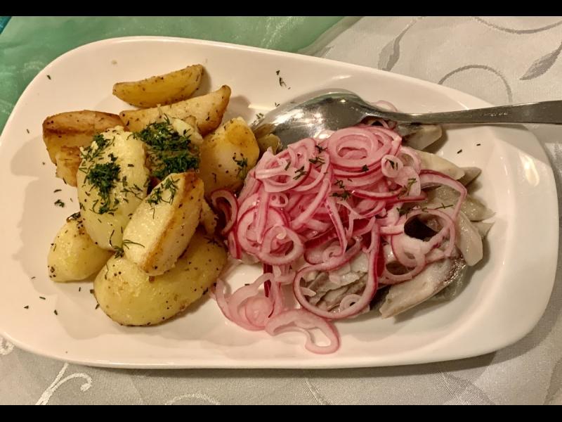 Siļķe ar kartupeļiem