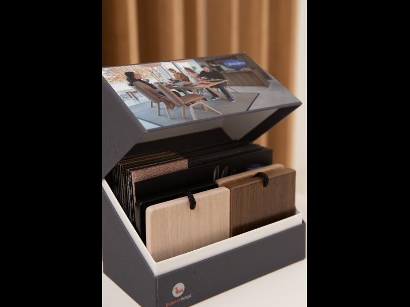 Materiālu paraugu kaste