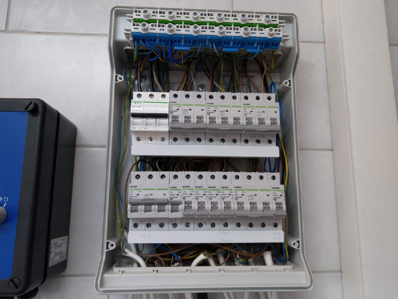 Elektroinstalācijas izveide, montāža