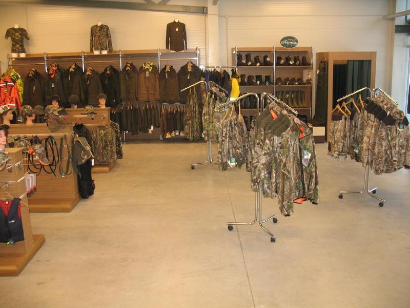 Medību piederumi, apģērbi