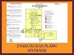 Evakuācijas plānu izstrāde