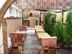 Pirts ar āra atpūtas terasi un bāru