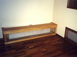 Koka elementi radiatoriem