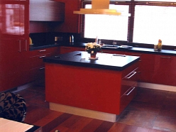 Modernas virtuves mēbeles