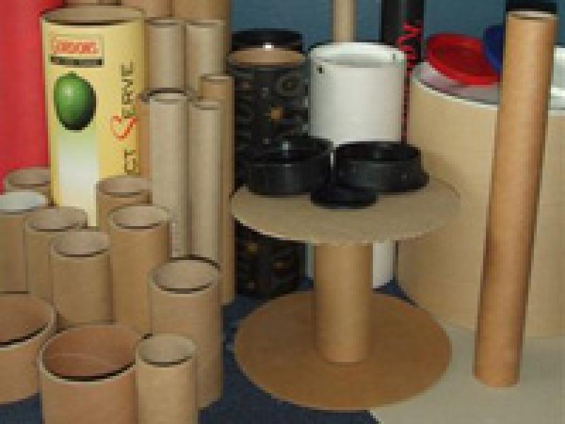 Spirālveida kartona cauruļu ražotne Liepājā
