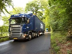 Sauszemes kravu pārvadājumi visā Eiropā