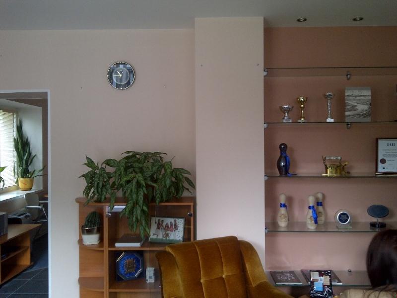 Biroja telpas