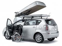 Autoadapt invalīdu auto pacēlāji