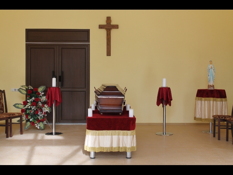 Apbedīšanas nams - Krematorija PARADISUS, ATVADU zāle PARADISUS