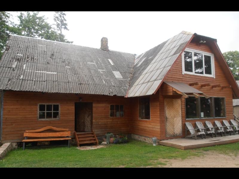 Viesu nams atpūtai pie dabas