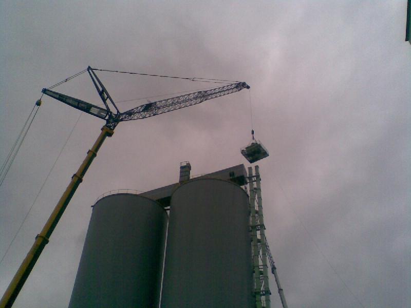 Montāžas ceļamkrānu, celtņu remonts. Celtniecības pacēlājtehnika, pacēlāju remonts, pārtraukšanas tehnika