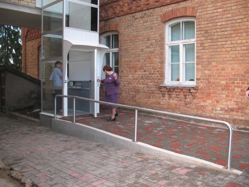 Visu veidu lifti invalīdiem