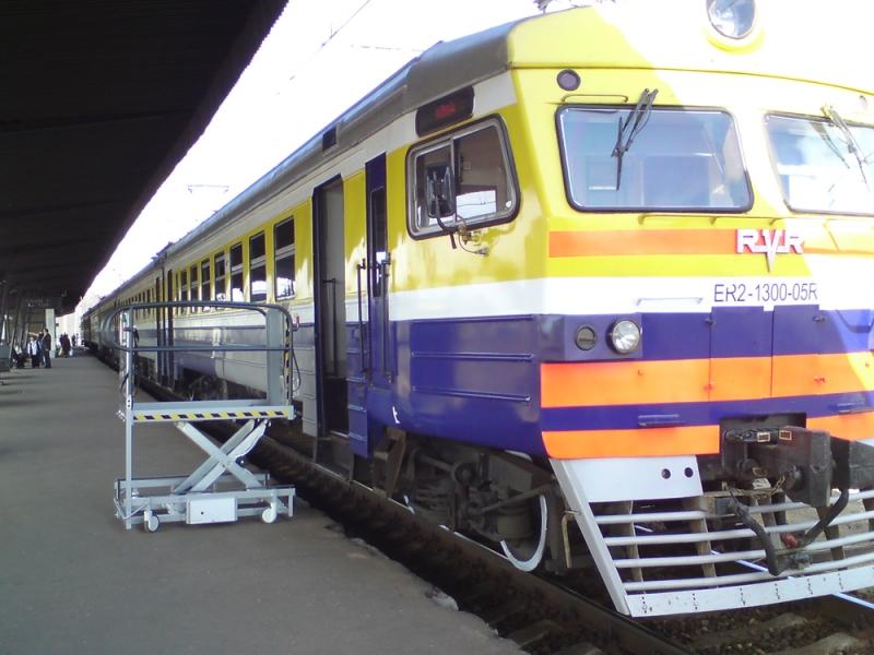 Invalīdu pacēlāji dzelzceļam