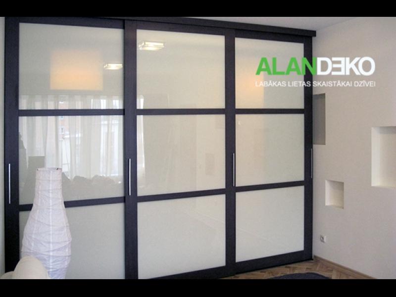 ALANDEKO mēbeles skapji bīdāmās durvis