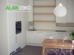 ALANDEKO mēbeles virtuves nelieliem dzīvokļiem