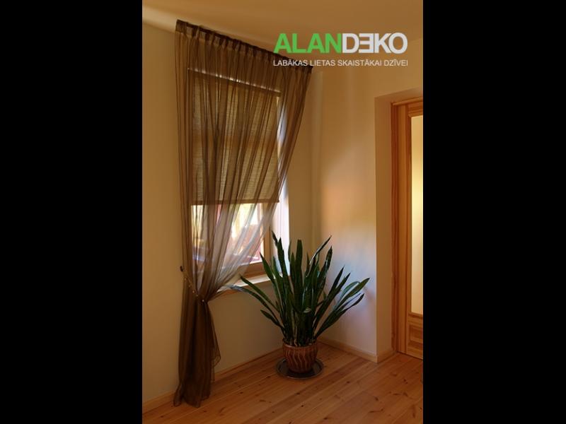 ALANDEKO dizainera logu noformējums rullo žalūzijas aizkari