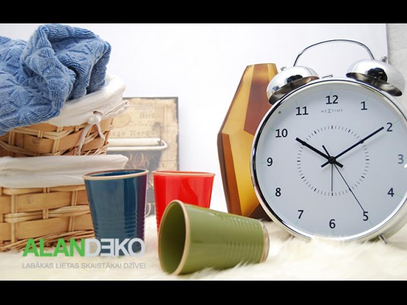 ALANDEKO interjers dāvanas trauki pulksteņi