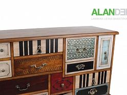 ALANDEKO oriģinālas interjera mēbeles kumode