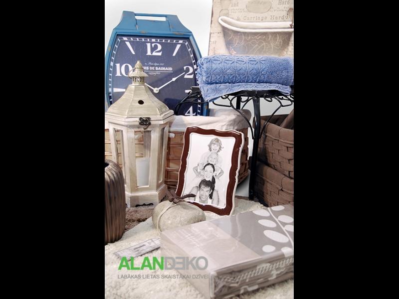 ALANDEKO interjers dāvanas trauki pulksteņi fotorāmji gultasveļa