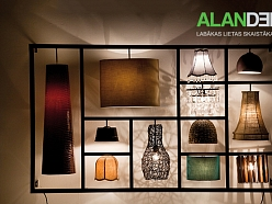 ALANDEKO interjers sienas griestu galda lampas