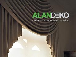 ALANDEKO klasisks logu noformējums