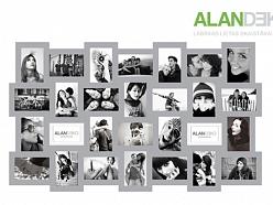 ALANDEKO dāvanas fotorāmji kolāža