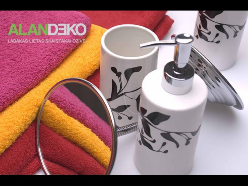 ALANDEKO dāvanas vannas piederumi dvieļi