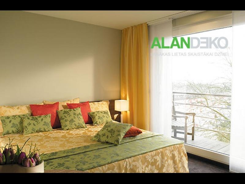 ALANDEKO aizkari tekstils interjera dizains