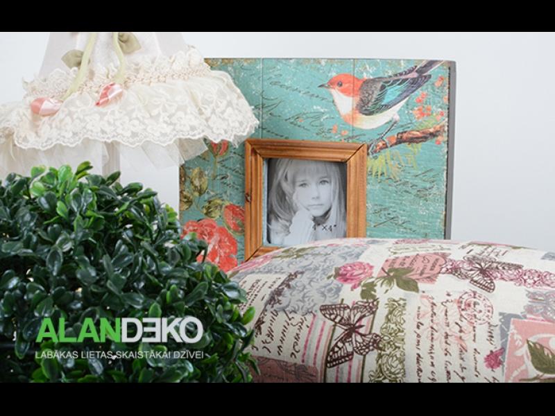 ALANDEKO interjers dāvanas spilveni dekoratīvas kastes lampas fotorāmji