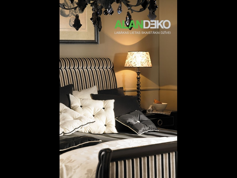ALANDEKO interjers lampas spilveni tekstils stāvlampas grīdas lampas
