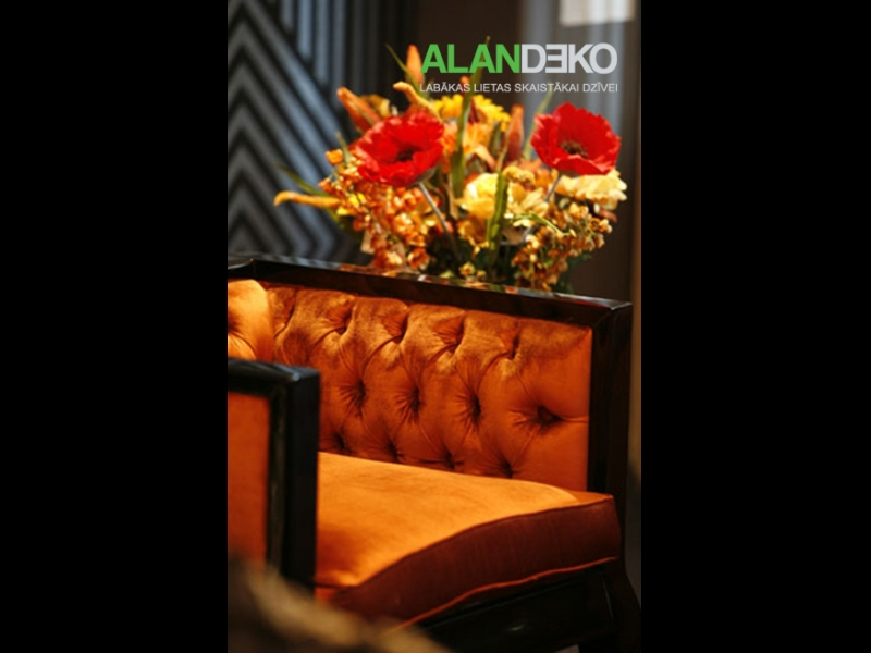 ALANDEKO interjers mēbeles