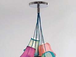 ALANDEKO krāsaina griestu lampa lustra