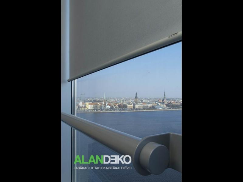 ALANDEKO rullo žalūzijas stiklotām ēkām