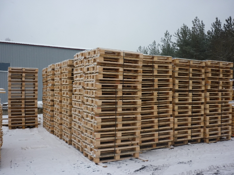 Paletes, kokmateriālu tirdzniecība